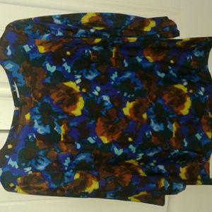 Boden Floral blouse